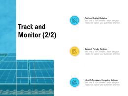 Track And Monitor Technology Ppt Powerpoint Presentation Summary Themes