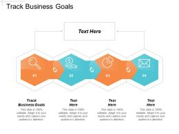 Track Business Goals Ppt Powerpoint Presentation Icon Examples Cpb