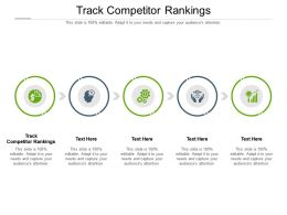 Track Competitor Rankings Ppt Powerpoint Presentation Pictures Sample Cpb