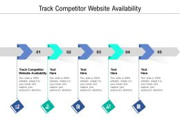 Track Competitor Website Availability Ppt Powerpoint Presentation Template Cpb