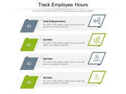 Track Employee Hour Ppt Powerpoint Presentation Styles Demonstration Cpb