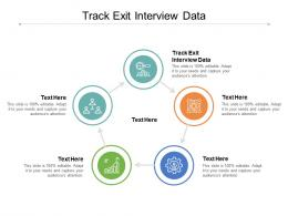 Track Exit Interview Data Ppt Powerpoint Presentation Ideas Maker Cpb
