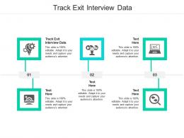 Track Exit Interview Data Ppt Powerpoint Presentation Inspiration Slides Cpb