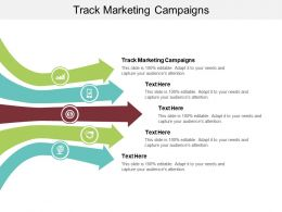 Track Marketing Campaigns Ppt Powerpoint Presentation Layouts Visual Aids Cpb