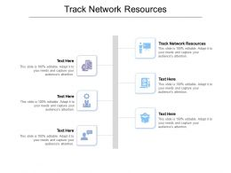 Track Network Resources Ppt Powerpoint Presentation Show Vector Cpb
