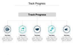 Track Progress Ppt Powerpoint Presentation Infographics Show Cpb