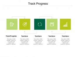 Track Progress Ppt Powerpoint Presentation Slides Introduction Cpb