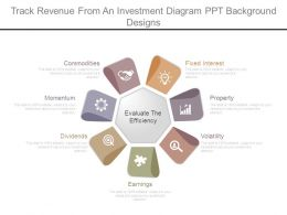 Track Revenue From An Investment Diagram Ppt Background Designs