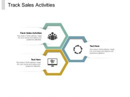 Track Sales Activities Ppt Powerpoint Presentation File Samples Cpb