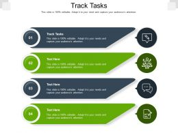 Track Tasks Ppt Powerpoint Presentation Icon Smartart Cpb