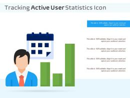 Tracking Active User Statistics Icon
