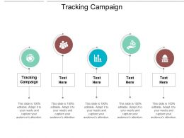 Tracking Campaign Ppt Powerpoint Presentation Summary Elements Cpb