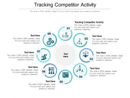 Tracking Competitor Activity Ppt Powerpoint Presentation Professional Icon Cpb