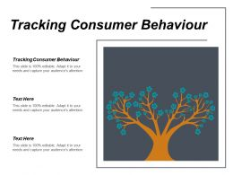 Tracking Consumer Behaviour Ppt Powerpoint Presentation Slides Infographic Template Cpb