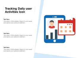 Tracking Daily User Activities Icon