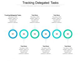 Tracking Delegated Tasks Ppt Powerpoint Presentation Styles Slide Cpb