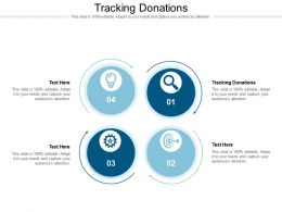 Tracking Donations Ppt Powerpoint Presentation File Slide Cpb