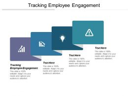 Tracking Employee Engagement Ppt Powerpoint Presentation Gallery Graphic Tips Cpb