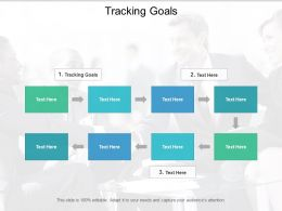 Tracking Goals Ppt Powerpoint Presentation Summary Picture Cpb