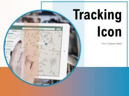 Tracking Icon Information Scanning Landmark Shipment Exclamation Situation Monitoring