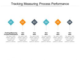 Tracking Measuring Process Performance Ppt Powerpoint Presentation Infographic Template Background Images Cpb