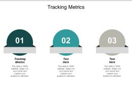 Tracking Metrics Ppt Powerpoint Presentation Outline Slideshow Cpb