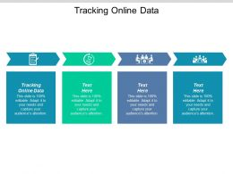 Tracking Online Data Ppt Powerpoint Presentation Deck Cpb