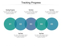 Tracking Progress Ppt Powerpoint Presentation File Graphic Images Cpb