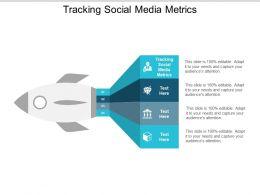 Tracking Social Media Metrics Ppt Powerpoint Presentation Summary Microsoft Cpb