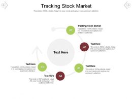 Tracking Stock Market Ppt Powerpoint Presentation File Shapes Cpb