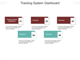 Tracking System Dashboard Ppt Powerpoint Presentation Infographic Template Cpb