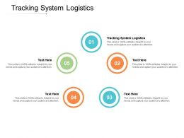 Tracking System Logistics Ppt Powerpoint Presentation Infographics Example Introduction Cpb