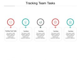 Tracking Team Tasks Ppt Powerpoint Presentation File Influencers Cpb