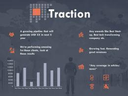 Traction Finance Ppt Powerpoint Presentation Outline Slides
