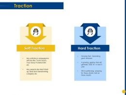 Traction Hard Traction Ppt Powerpoint Presentation Gallery Display