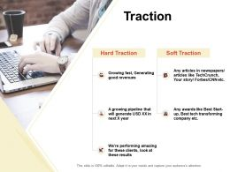 Traction Ppt Powerpoint Presentation Infographic Template Backgrounds