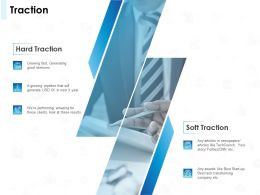 Traction Soft And Hard Ppt Powerpoint Presentation Summary Structure