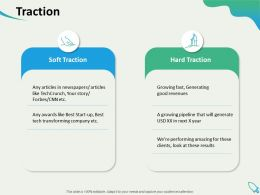 Traction Transforming Company Ppt Powerpoint Presentation Visual Aids Summary