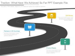 Traction What Have We Achieved So Far Ppt Example File