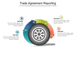 Trade Agreement Reporting Ppt Powerpoint Presentation Images Cpb