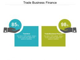 Trade Business Finance Ppt Powerpoint Presentation Slides Vector Cpb
