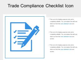 Trade Compliance Checklist Icon