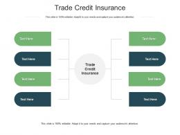 Trade Credit Insurance Ppt Powerpoint Presentation Icon Inspiration Cpb