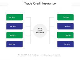 Trade Credit Insurance Ppt Powerpoint Presentation Professional Portfolio Cpb