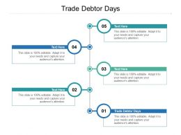 Trade Debtor Days Ppt Powerpoint Presentation Model Picture Cpb