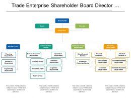 Trade Enterprise Shareholder Board Director Org Chart