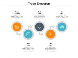 Trade Execution Ppt Powerpoint Presentation Infographics Outline Cpb