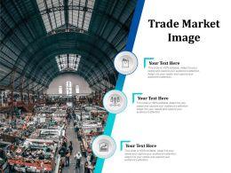 Trade Market Image