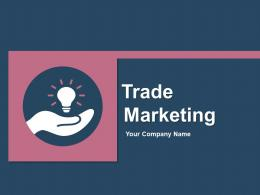 Trade Marketing Trade Deals Promo Budget Product Supply Brand Marketing