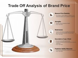 Trade Off Analysis Of Brand Price